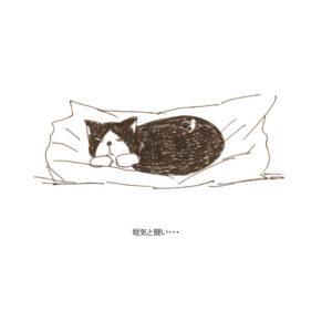 グリとオレオの日常-35-寝姿